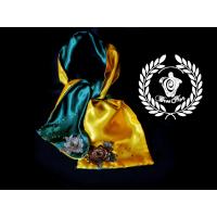 Eșarfă Turquoise Galben